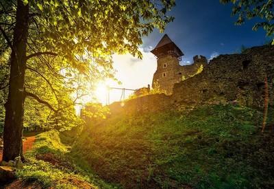 Невицкий замок - место для фотосессии в Закарпатской области - портфолио 2