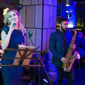 Duet Vocal & Sax Taisa Paustovskaya, David Kolpakov