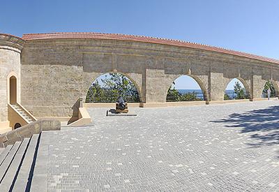 Карантинная аркада - место для фотосессии в Одессе - портфолио 6