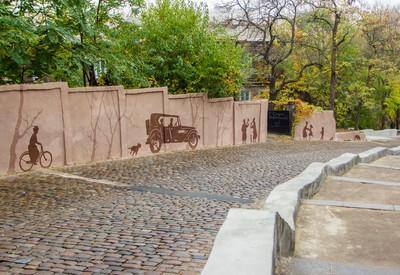 Карантинный спуск - место для фотосессии в Одессе - портфолио 1