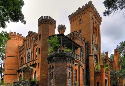 Замок-дворец Даховских - место для фотосессии в Черкасской области - портфолио 4