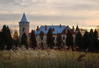 Дворец-усадьба Рея - место для фотосессии в Львовской области - портфолио 1