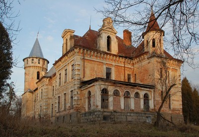 Дворец-усадьба Рея - место для фотосессии в Львовской области - портфолио 5