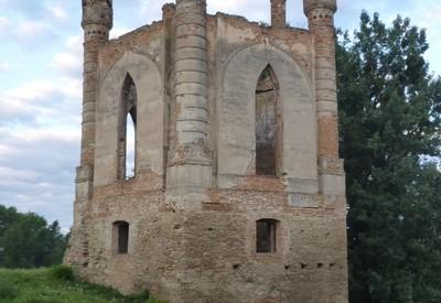 Новомалинский замок - место для фотосессии в Ровненской области - портфолио 3