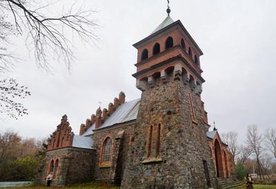 Костёл Святой Клары - место для фотосессии в Житомирской области - портфолио 2