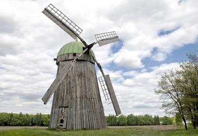 Особняк и ветряная мельница - фото 1