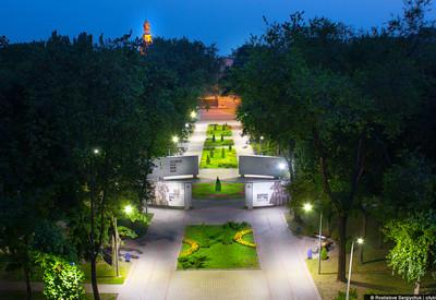 Ночной парк Героев - фото 2