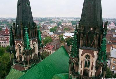 Костёл Эльжбеты - место для фотосессии в Львове - портфолио 6