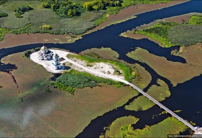 Затопленное село Гусинцы - место для фотосессии в Киевской области - портфолио 1