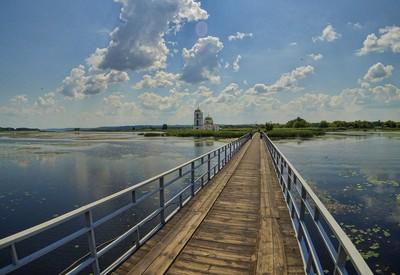 Затопленное село Гусинцы - место для фотосессии в Киевской области - портфолио 2