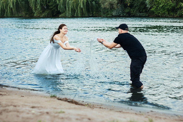 Love story  Марины и Влада - фото №11