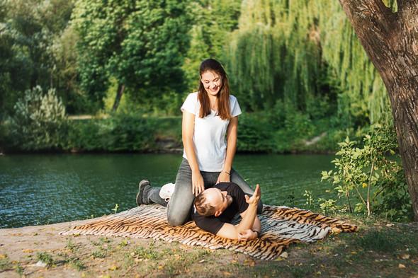 Love story  Марины и Влада - фото №10