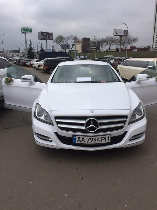 Mercedes CLS 6,3 AMG white