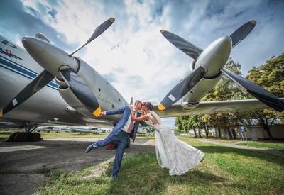 Музей авиации - место для фотосессии в Киеве - портфолио 2