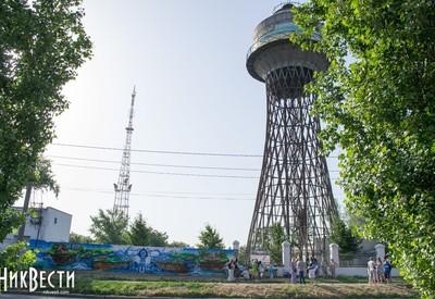 Башня Шухова и граффити - фото 2