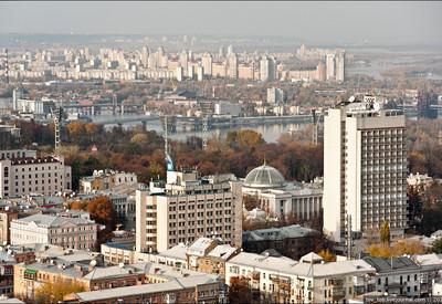 Самая высокая крыша Украины - место для фотосессии в Киеве - портфолио 2