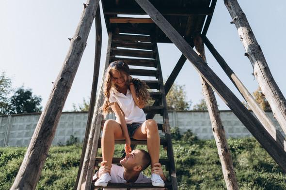 Love-story Ира + Андрей - фото №10