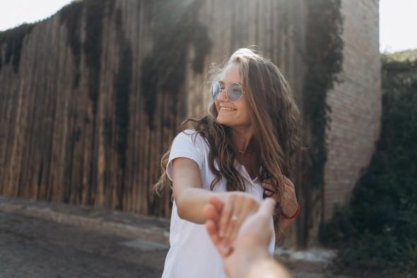 Love-story Ира + Андрей - фото №5