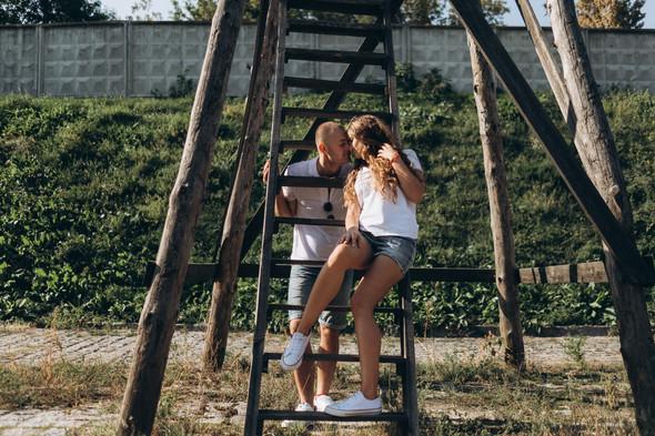 Love-story Ира + Андрей - фото №11