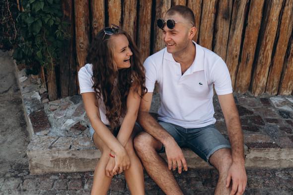 Love-story Ира + Андрей - фото №2