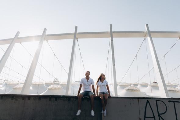 Love-story Ира + Андрей - фото №17