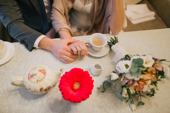 Тёплая ноябрьская свадьба - фото №28