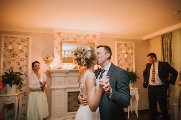Тёплая ноябрьская свадьба - фото №40
