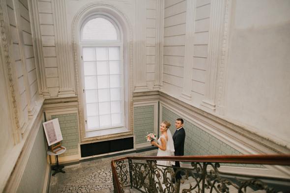 Тёплая ноябрьская свадьба - фото №20