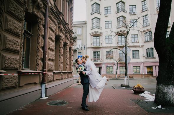 Тёплая ноябрьская свадьба - фото №21