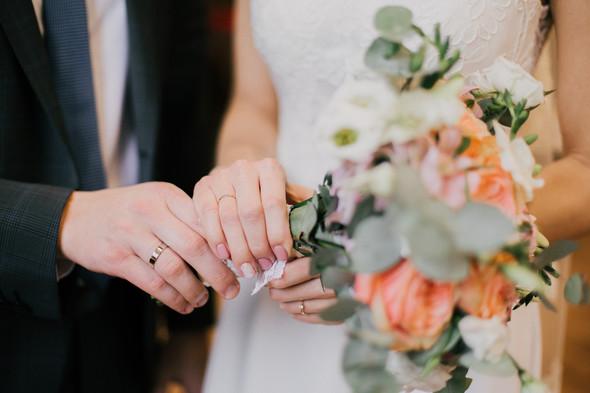 Тёплая ноябрьская свадьба - фото №19