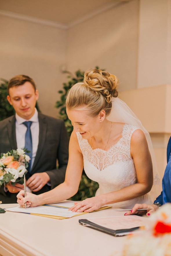 Тёплая ноябрьская свадьба - фото №11