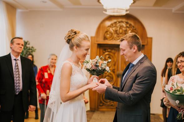 Тёплая ноябрьская свадьба - фото №10