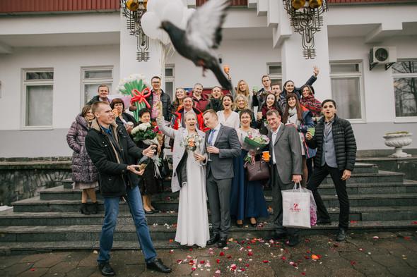 Тёплая ноябрьская свадьба - фото №14
