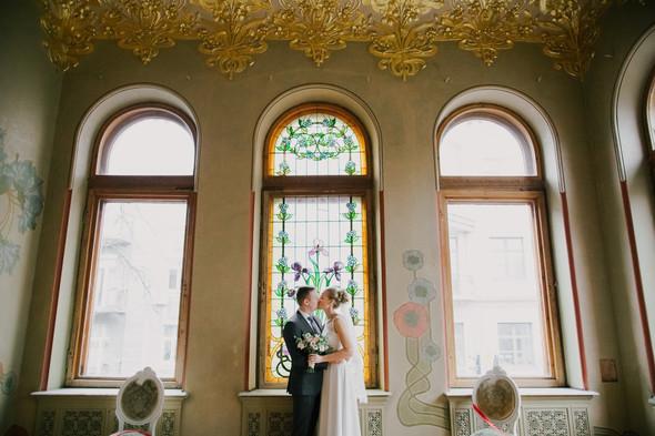 Тёплая ноябрьская свадьба - фото №15