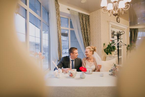 Тёплая ноябрьская свадьба - фото №25