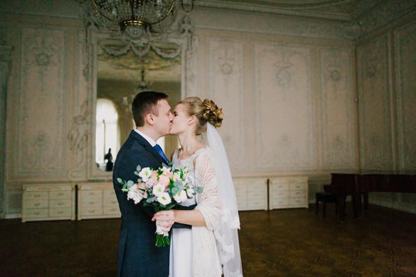 Тёплая ноябрьская свадьба - фото №17