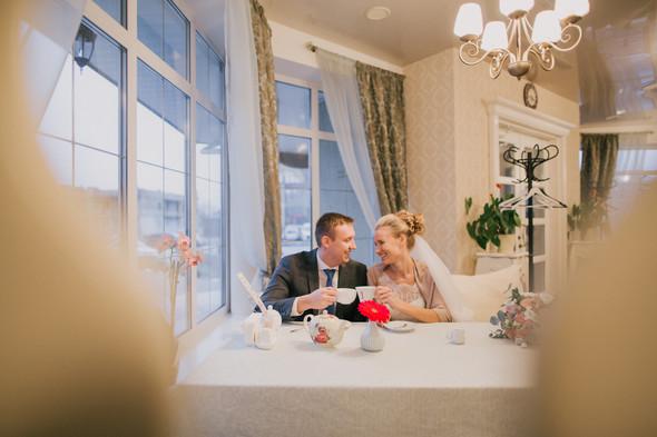 Тёплая ноябрьская свадьба - фото №26