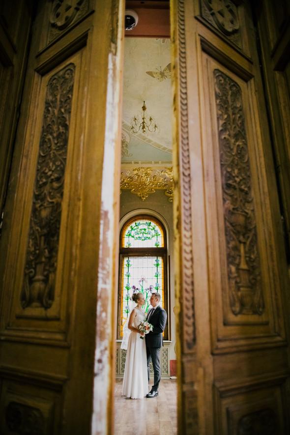 Тёплая ноябрьская свадьба - фото №16