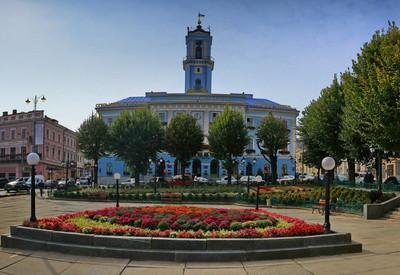 Площадь Рынок - место для фотосессии в Черновцах - портфолио 1