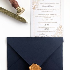 Свадебные приглашения - пригласительные на свадьбу в Киеве - фото 3