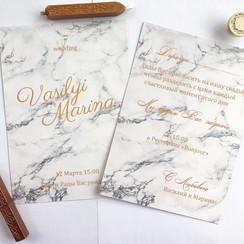 Свадебные приглашения - фото 1