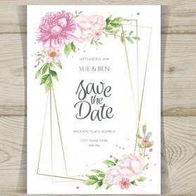 Свадебные приглашения - портфолио 4