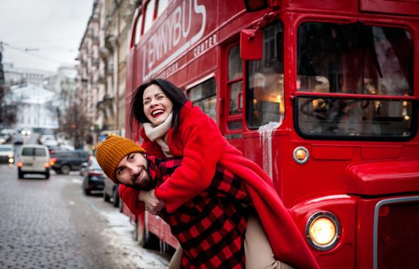Зимня Love Story Кати и Саши - фото №5