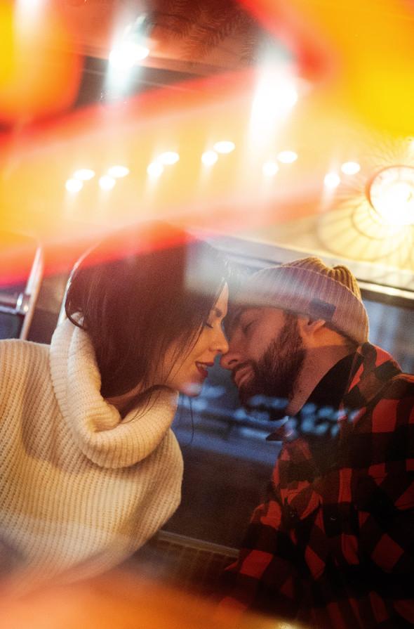 Зимня Love Story Кати и Саши - фото №13