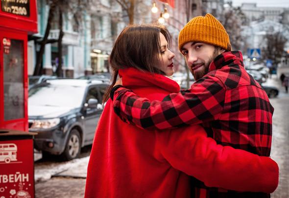 Зимня Love Story Кати и Саши - фото №4