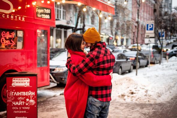 Зимня Love Story Кати и Саши - фото №3