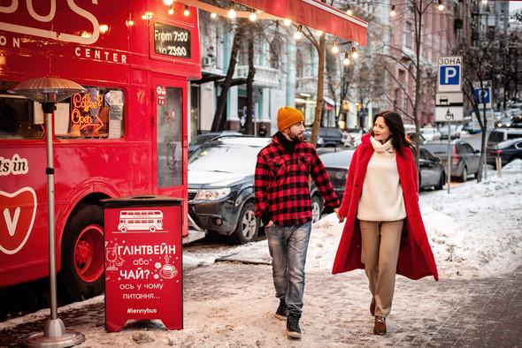 Зимня Love Story Кати и Саши - фото №1