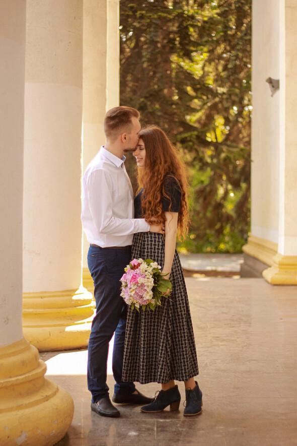 Love story на ВДНХ - фото №16