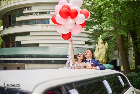 Свадьба на природе возле частного дома с выездной церемонией - фото №58