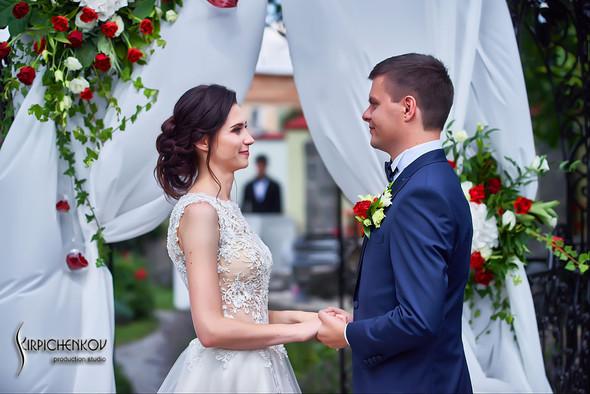 Свадьба на природе возле частного дома с выездной церемонией - фото №21